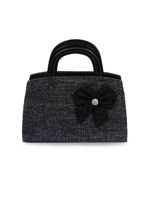 Designer Handbag With Crystal Embelishment,Shop Online at http://www.ethnicdukaan.com/designer-handbag-with-crystal-embelishment-h0101019