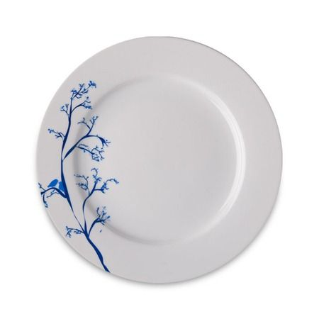 @Rustdesigns are these lovely love #bird dinner plates in# Cobalt #blue just a branch on the side with 2# birds nicely decorative @JossandMain