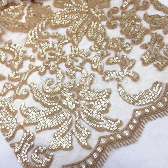 Popular Sequins Fabrics-Buy Cheap Sequins Fabrics lots from China ...