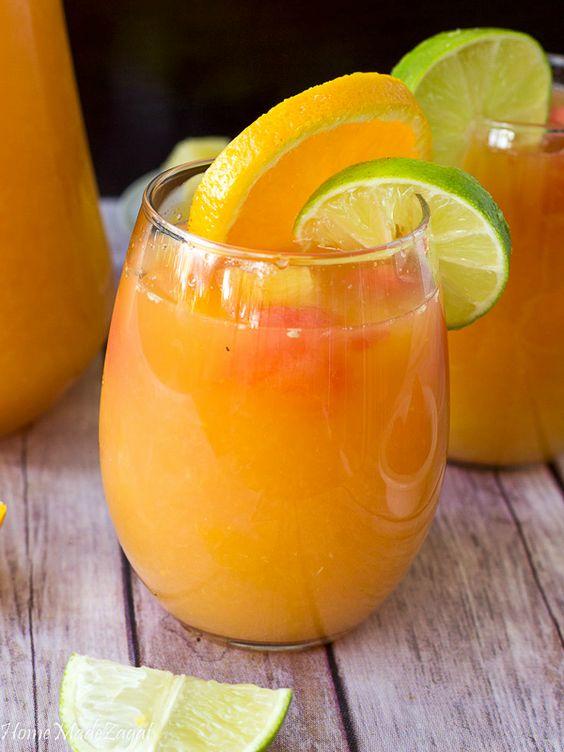Ultimate Fruit Punch Recipe Fruit Punch Pineapple Lemonade Fruit