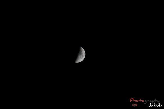 Mond , Moon , rising , zunehmend , Photography , jakob