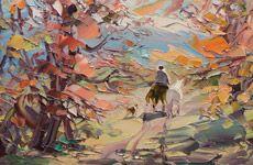 George Miciu, un pintor Argentino.