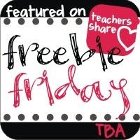 Teaching Blog Addict: It's Friday! Here's Your Freebies!