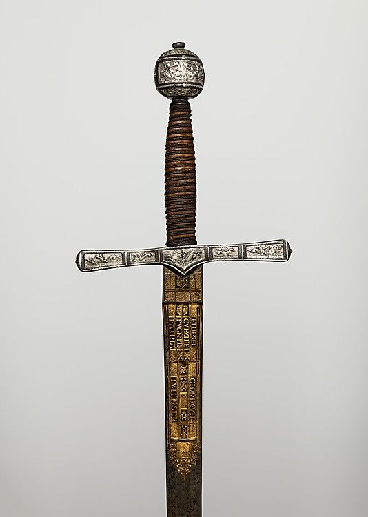 Cross-Hilt Sword  Blade signed by Clemens Horn  (German, Solingen, 1580–1630)