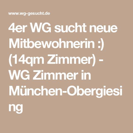 4er WG sucht neue Mitbewohnerin :) (14qm Zimmer) - WG Zimmer in München-Obergiesing