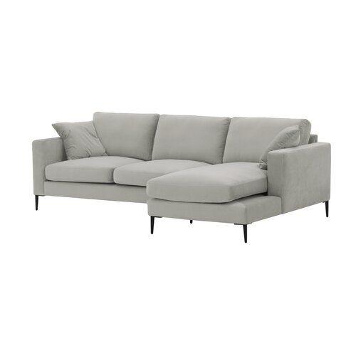 Amabel Corner Sofa George Oliver Upholstery Colour Pistacio Orientation Right Hand Facing Ecksofa Design Ecksofa