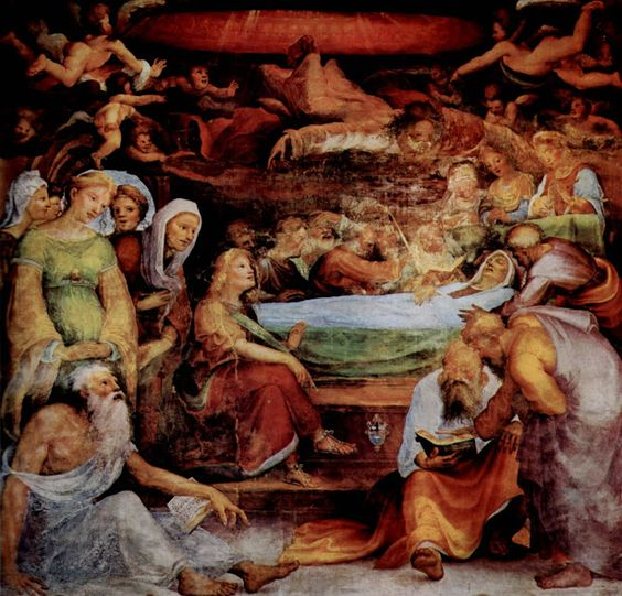 Transito della Vergine (1518; Siena, Oratorio di San Bernardino)