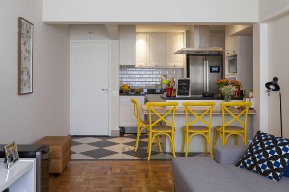 Diseno De Sala Comedor Y Cocina