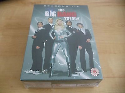 The big bang #theory : #season 1 - 4 - dvd - new #sealed,  View more on the LINK: http://www.zeppy.io/product/gb/2/281958621386/