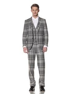 I don't think I could go out with a guy wearing this suit. What do you think?