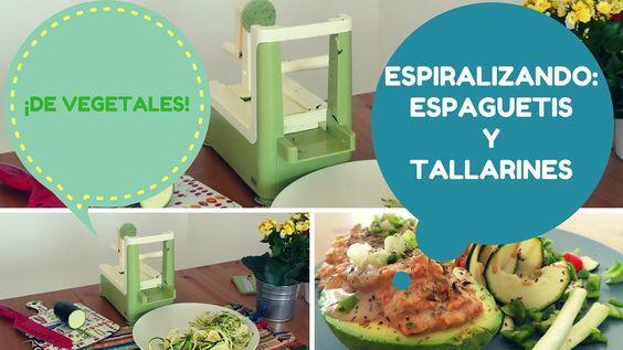 Espiralizar verduras/Spiralizing Vegetables