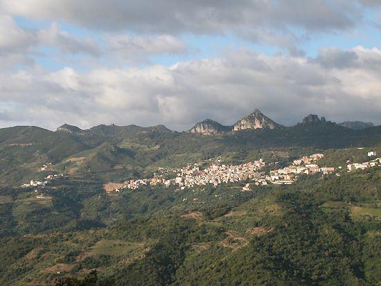Panorama di Jerzu