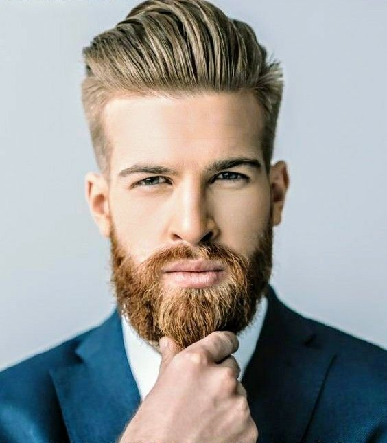 Perfectly Groomed Groom Weddingday Grooms Beardedgroom Perfectlystyledgroom Beards Haircutsfad Mens Hairstyles Thick Hair Groom Hair Styles Beard Styles