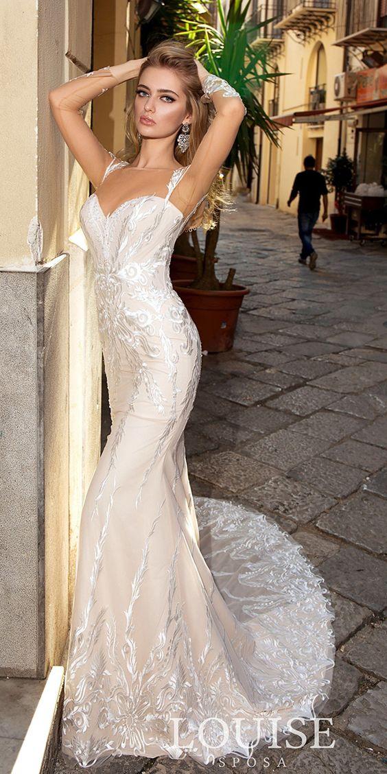 the most gorgeous Rime Arodaky wedding dresses