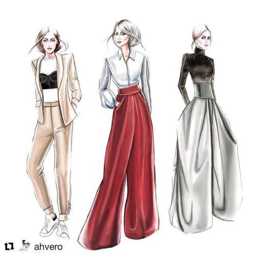 Pin by bts on Fabulous Fashion | Fashion illustration