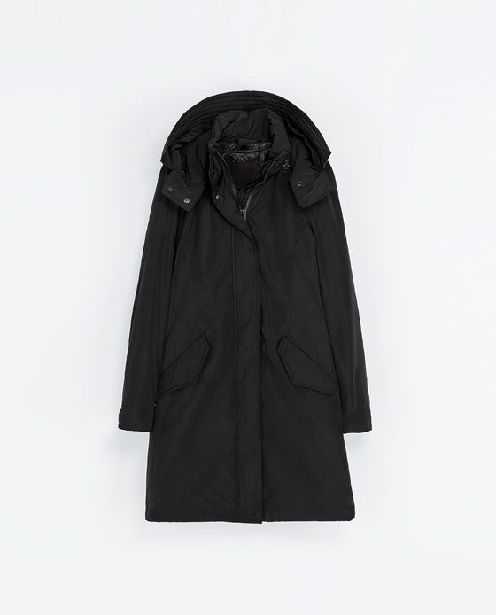 ZARA - WOMAN - LONG QUILTED COAT