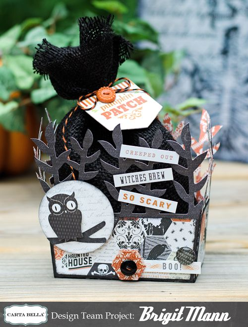 "Brigit's Scraps ""Where Scraps Become Treasures"": Carta Bella Cornfield Owl Box"