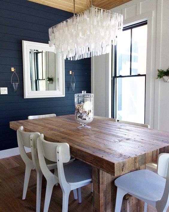 10 Round Dining Tables To Create A Cozy And Modern Decor Modern Farmhouse Dining Room Farmhouse Dining Room Minimalist Dining Room