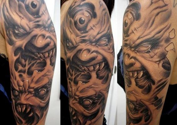 Pinterest the world s catalog of ideas for Paul booth tattoo artist