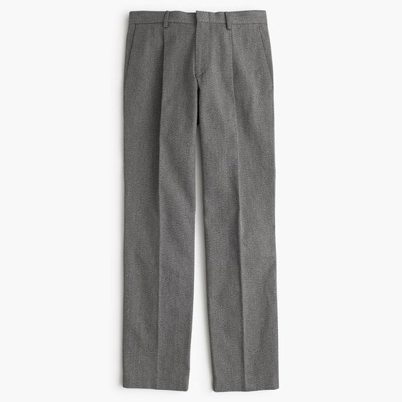 J.Crew Mens Wallace & Barnes Suit Pant In Japanese Covert Cotton Twill