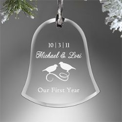 This is a great way to capture each year that you and your Spouse have been together. Pick out a ornament, or have one custom made, each Christmas, to signify every year you have been married. Each Christmas while your putting them up on the tree, reminisce back on each year and share stories about the best memory you had of each other.