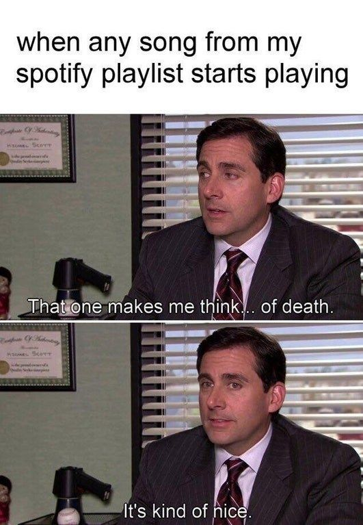 Michael Scott Praise Quote