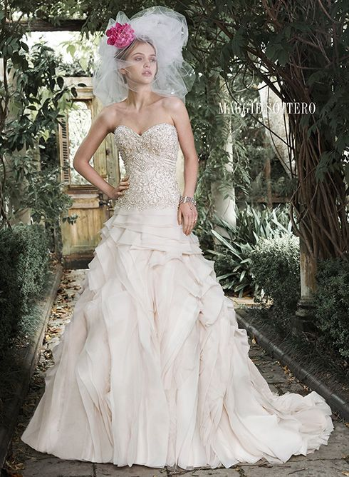 Maggie Sottero Fall 2015 Collection ~ Hot Chocolates Blog  #wedding #weddings #bride #dress #bouquet #maggiesottero  www.hotchocolates.co.uk www.blog.hotchocolates.co.uk www.evententertainmenthire.co.uk