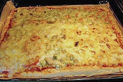 Pizzateig (ohne Gehenlassen) (Rezept mit Bild) von bike_79 | Chefkoch.de