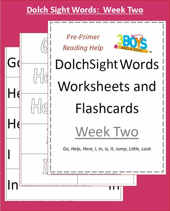 Free Sight Word Dolch Cards | Kind