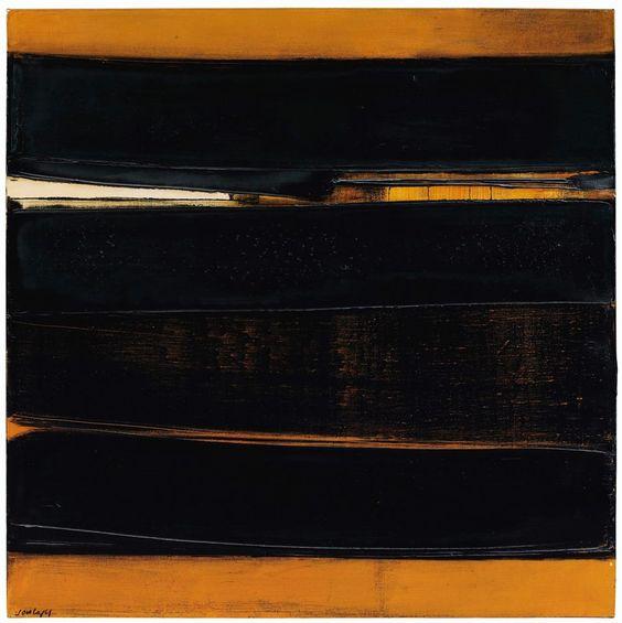 Pierre Soulages (b. 1919) Peinture 81 x 81 cm, 14 juin 1978