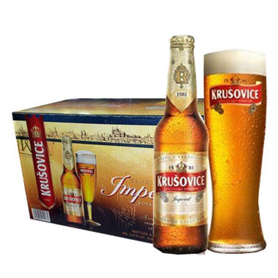 Bia Krusovice 5% - Chai 330ml - Bia Nhập Khẩu TPHCM