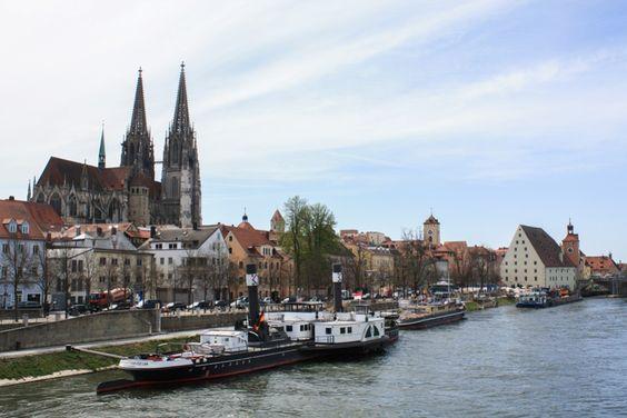 Die schönsten Bilder von unseren Reisen 2015 - Regensburg  ... #regensburg #donau #bayern