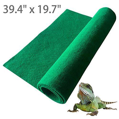 Blsmu Reptile Carpet Terrarium Liner Lizard Cage Liner Tortoises Heat Mat Chameleon Bedding Iguana Substrate Reptile Mat Fo In 2020 Reptile Carpet Lizard Cage Reptiles