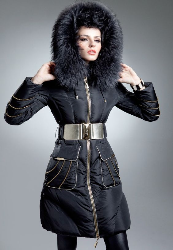 Ladies designer down jackets – Modern fashion jacket photo blog