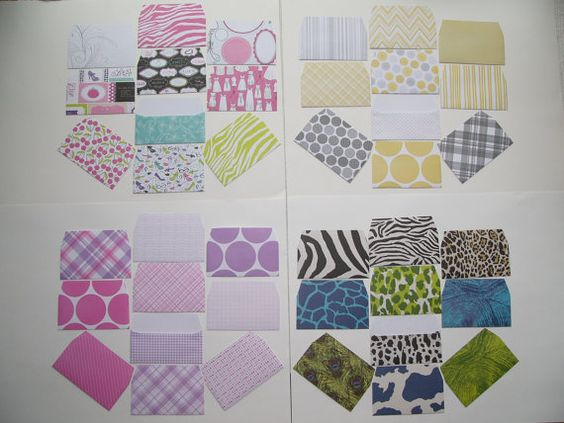 10 cash envelopes  made from beautiful by SteffisPhotoCards, $2.85