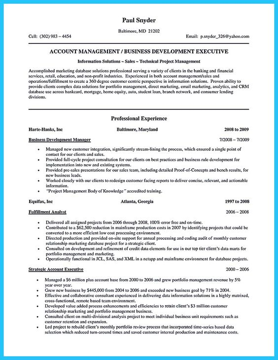 cool How to Make Cable Technician Resume That Is Really Perfect - bsa analyst sample resume