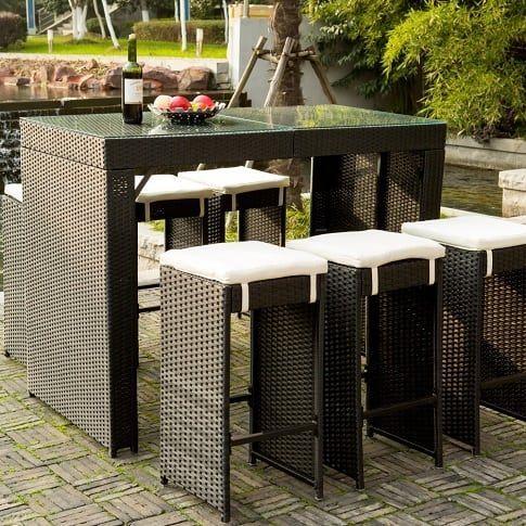 Black Wicker Patio Furniture Black Rattan Furniture Beachfront