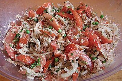 Illes leichter und leckerer Thunfisch - Tomaten - Salat, ein leckeres Rezept aus der Kategorie Raffiniert & preiswert. Bewertungen: 130. Durchschnitt: Ø 4,4.