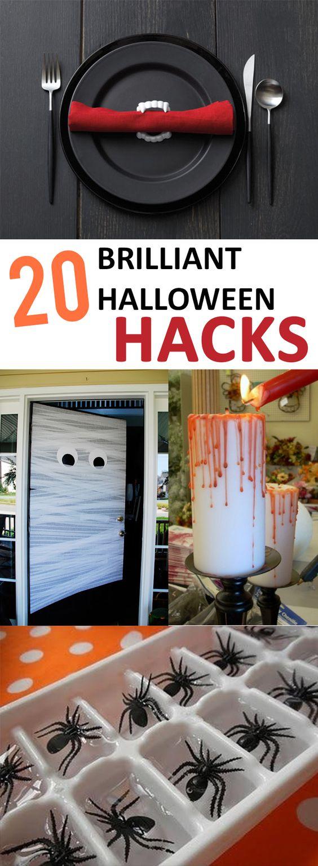 20 Brilliant Halloween Hacks | Change, Halloween halloween and Halloween  parties
