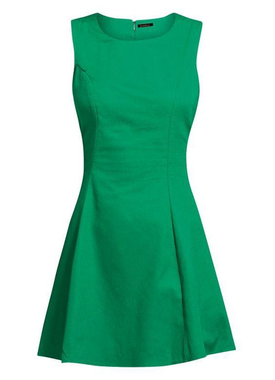 Vestido Evasê Verde - Posthaus