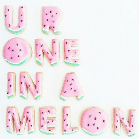 5 Favorites: Food Typography Artists - MichellePhan.com – MichellePhan.com: