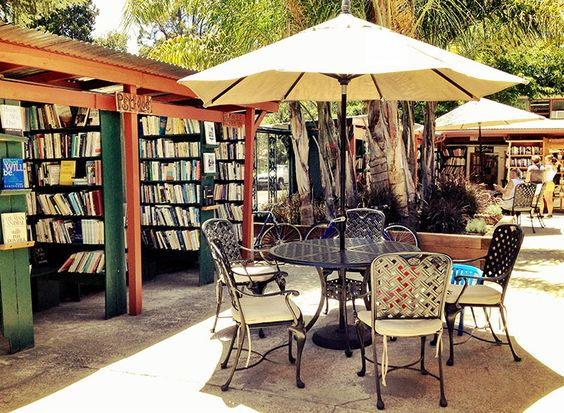 Bart's Books // Just a short walk or ride from the Ojai Valley Inn & Spa, Bart's Book is a bookstore unlike any other, offering a wide variety of rare and captivating books, hosting nearly one million books ranging from thirty-five cents to rare, out of print editions valued in the thousands of dollars.