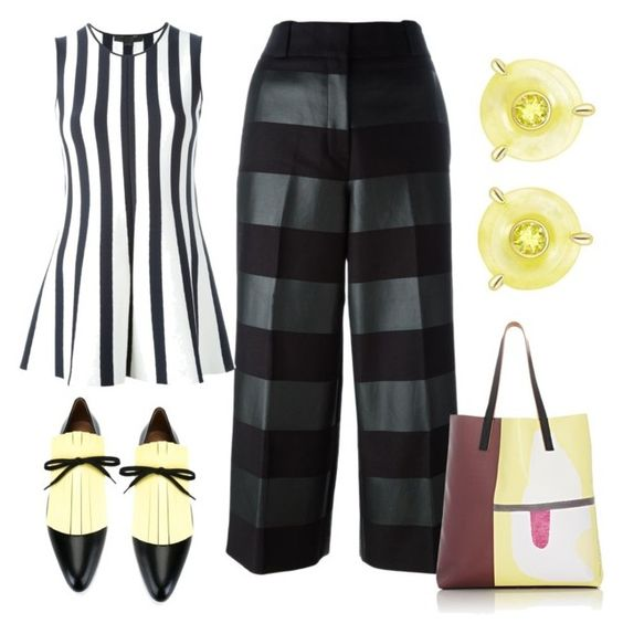 """Personal Shopper"" by engleann ❤ liked on Polyvore featuring Marni and Alexander Wang"