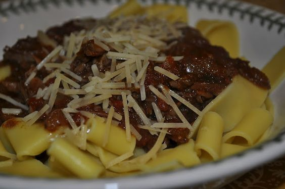 Short Ribs over Pappardelle | Dining in Style | Pinterest | Beef Short ...