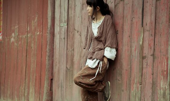 http://www.aliexpress.com/store/product/Free-Shipping-Women-Long-Plus-Size-Robe-Loose-Old-Vintage-Cotton-Female-Shirt-Wrinkled-Coffee-Half/811228_1885869422.html