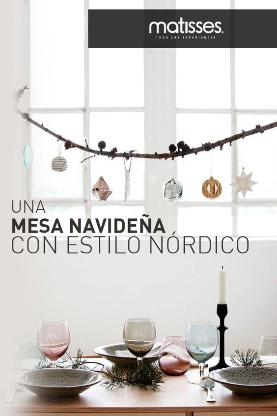 Inspirarse en las tendencias mundiales en decoración funciona para que esta navidad el hogar luzca diferente y elegante. Aquí encontrarás inspiración para una navidad con estilo nórdico.