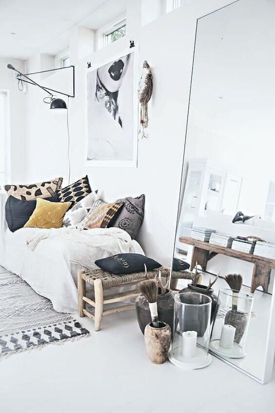 Pretty Scandinavian Decor Room