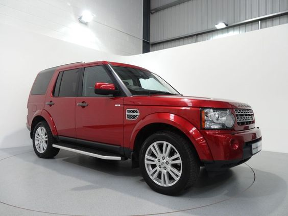 Land rover discovery 4 3 0 tdv6 hse finished in rimini red - Range rover with red leather interior ...