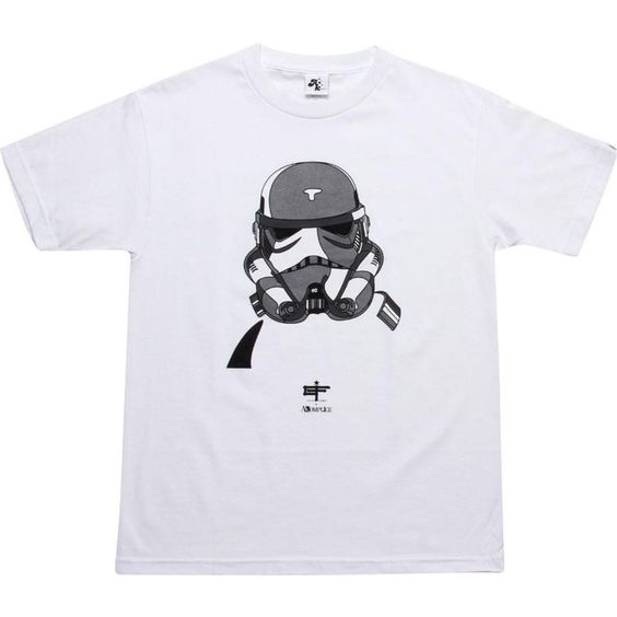 Akomplice x David Flores Storm Trooper 2 Tee Star Wars (white / grey) STORMTROOP in Clothing, Shoes & Accessories, Men's Clothing, Athletic Apparel | eBay