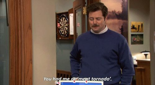"""The One With The Meat Tornado"" 